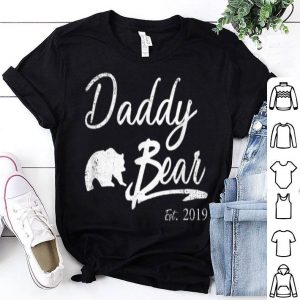 Daddy Bear Est. 2019 Gift For Father Day Shirt