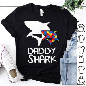 Daddy Shark Autism Awareness For Father Day shirt