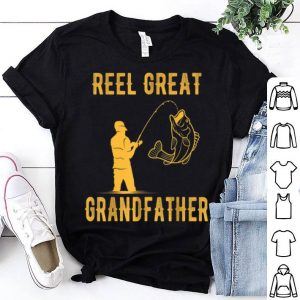 Fathers Day Reel Great Grandfather Fishing Lover shirt