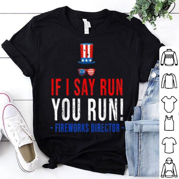Firework Director 4th July Independence Day shirt
