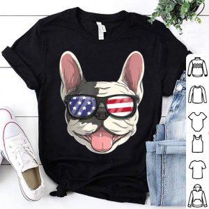 French Bulldog Dog Patriotic Usa 4th Of July American shirt