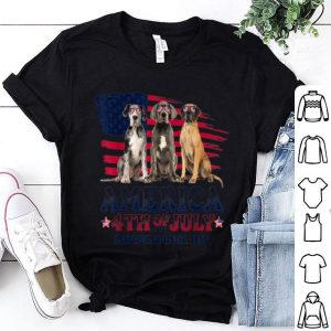 Great Dane America 4th Of July Independence Day shirt