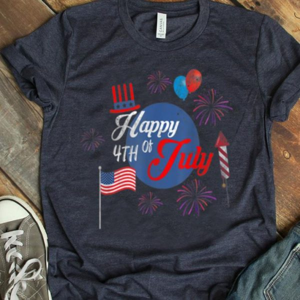 Happy 4th Of July Firework Independence Day shirt
