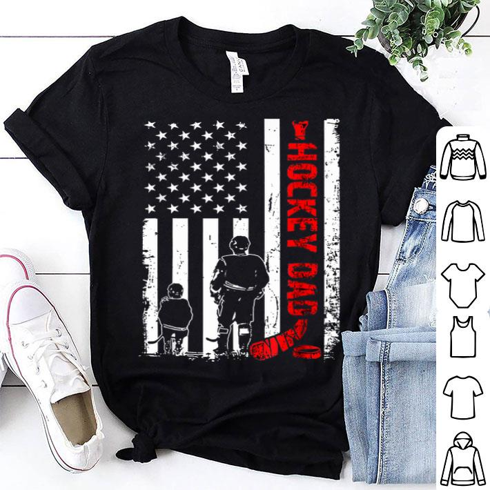 d7f9e80f Hockey Dad Father Day American Flag shirt, hoodie, sweater ...