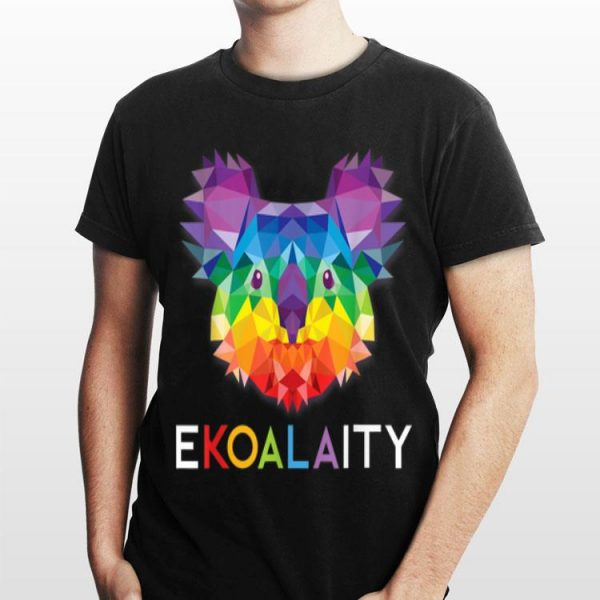 Koala Rainbow Flag Gay Pride Men Women Kids shirt