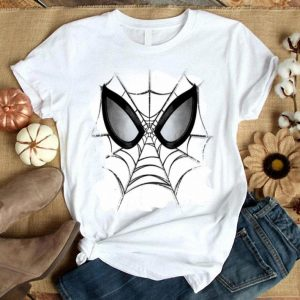 Marvel Spider-man Web Face Kids Graphic Shirt
