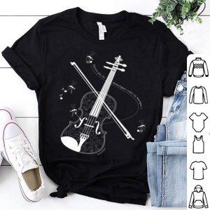 Mosquito Violin Laissez Pas Les Moustiques Voler Ta Musique shirt