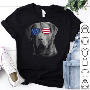 Patriotic Chesapeake Bay Retriever Dog Merica 4th Shirt