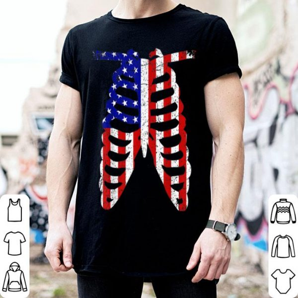 Radiology 4th of July Patriotic American USA Flag shirt