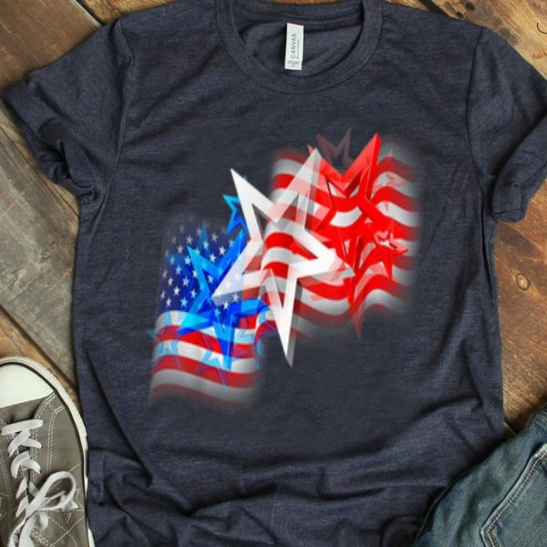 Us Flag Patriotic - American Stars And Stripes Shirt