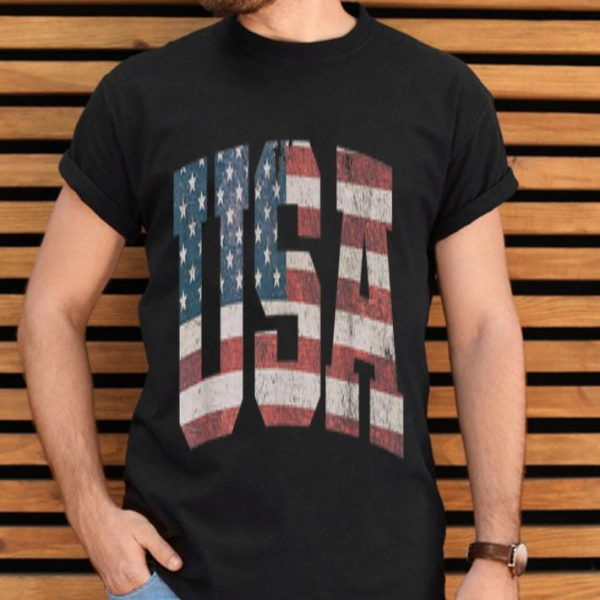 Usa Us Flag Tee Patriodic 4th Of July America Independence Day shirt