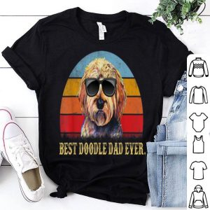 Vintage Goldendoodle Dad - Best Doodle Dad Ever Shirt