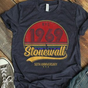 Vintage LGBT Gay Pride 50th Anniversary Stonewall NYC 1969 shirt