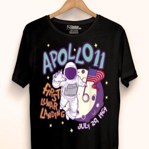 50th Anniversary Apollo 11 Moon Landing 1969 First Step On The Moon shirt