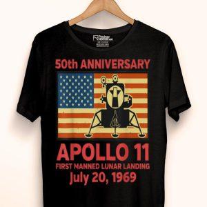 50th Anniversary Apollo 11 Moon Landing Giant Leap shirt