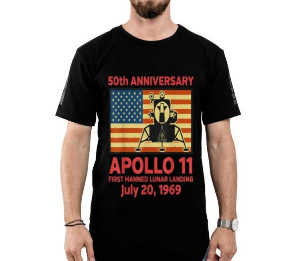 50th Anniversary Apollo 11 Moon Landing Giant Leap shirt