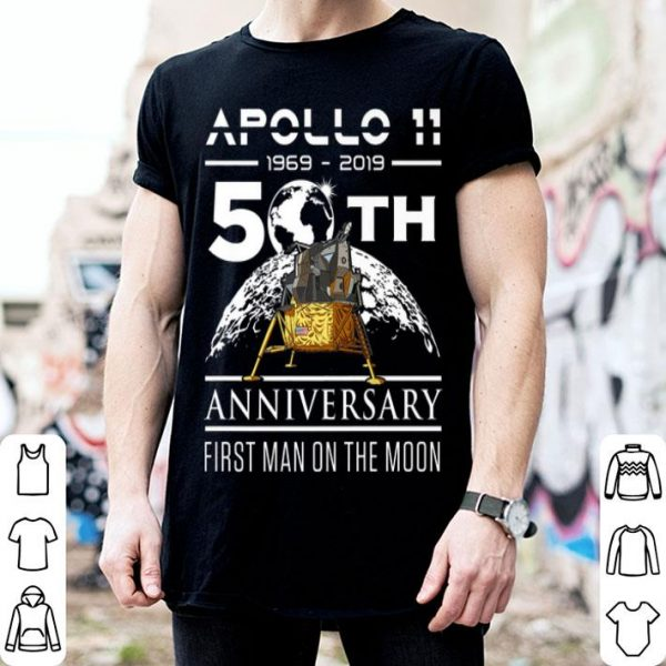 50th Anniversary Apollo 11 Moon Landing July 1969 shirt