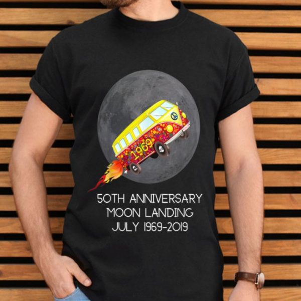 50th Anniversary Moon Landing July 1969-2019 shirt