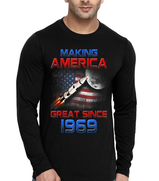 50th Birthday Apollo-11 Space Making America 1969 First Step On The Moon shirt