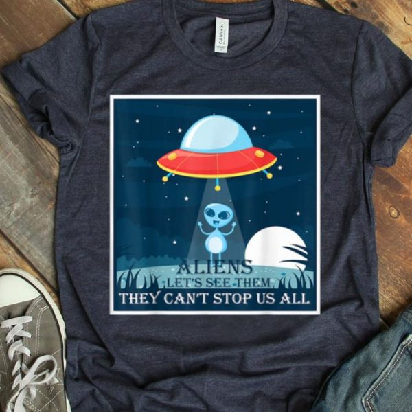 Aliens UFO Storm Area 51 shirt