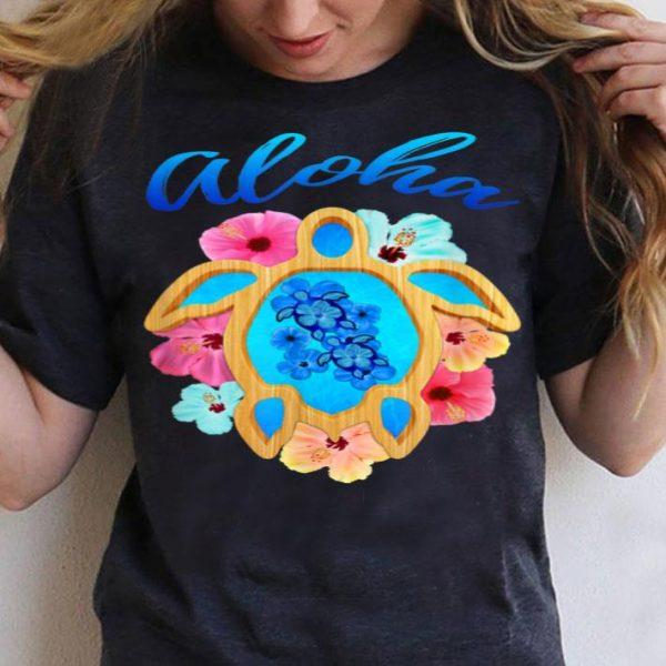Aloha Honu Sea Turtle Hawaiian shirt