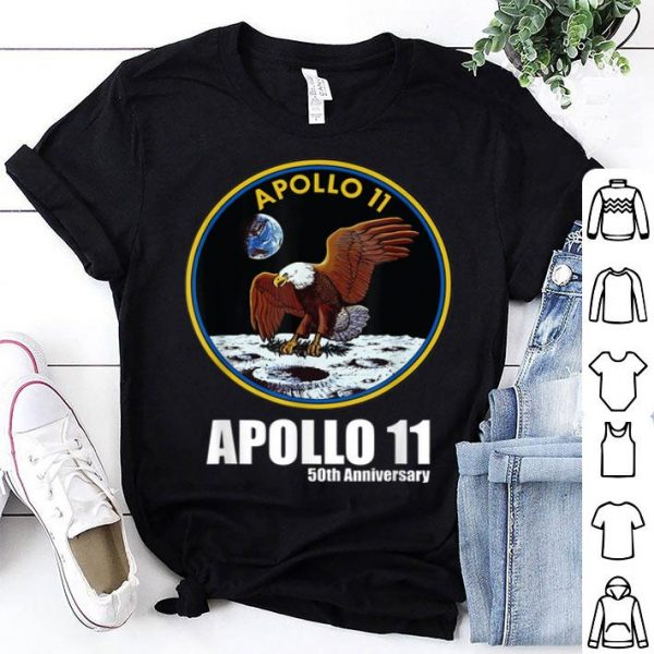 Apollo 11 50th Anniversary Moon Landing Science shirt