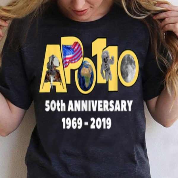 Apollo 11 50th Anniversary Moon Landing Walk 1969 2019 shirt
