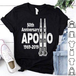 Apollo 11 50th Anniversary NASA Saturn V Rocket shirt