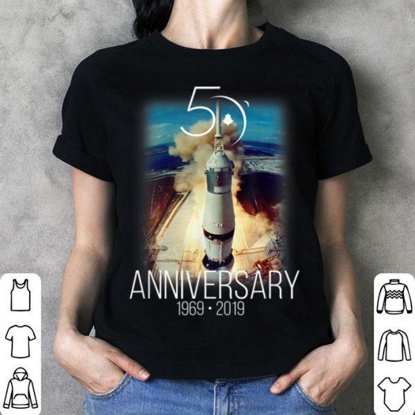Apollo 11 50th Anniversary Saturn V Launch Lunar Mission shirt