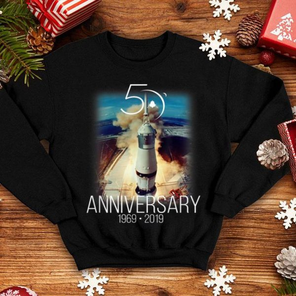 Apollo 11 50th Anniversary Saturn V Launch Lunar Mission shirt