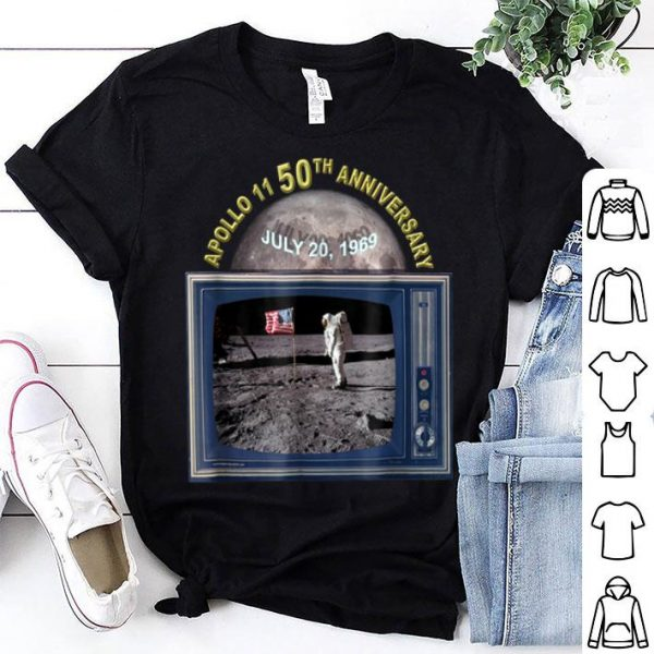 Apollo 11 50th Anniversary of Moon Landing shirt