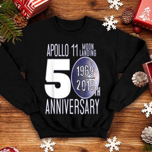 Apollo Moon Landing 50th Anniversary Recognition 1969 - 2019 shirt