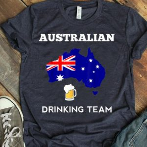 Australia Drinking Team Country Alcohol Beer shirt