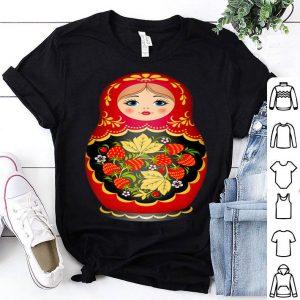 Beautiful Matryoshka Russian Strawberry Nesting Doll shirt