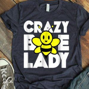 Beekeeper Beekeeping Crazy Bee Lady shirt