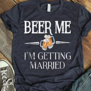 Beer Me I'm Getting Married Emoji shirt