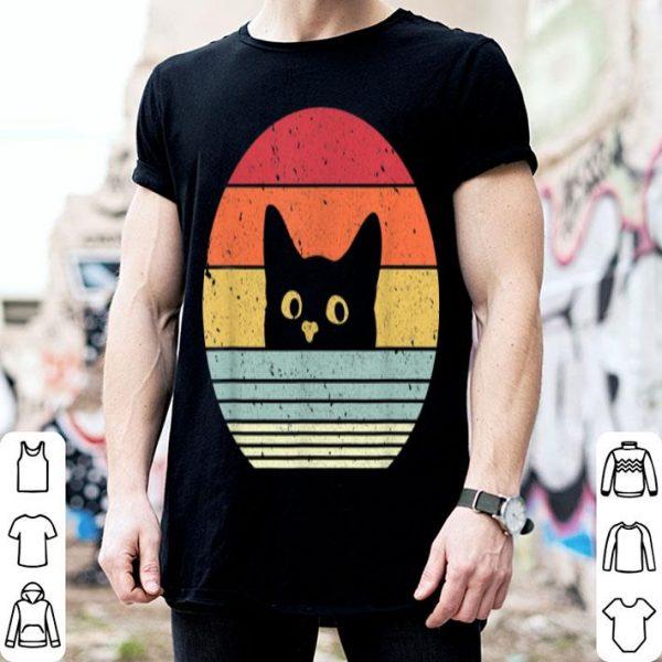 Cat. Retro Style shirt