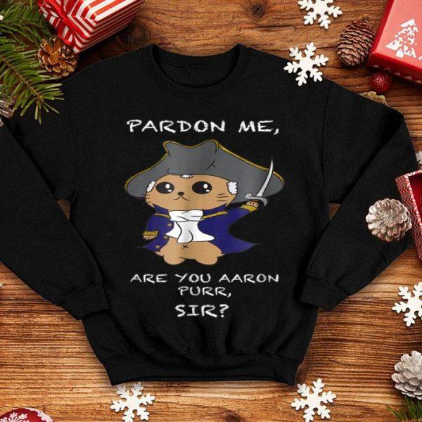 Cute Hamilton Cat shirt