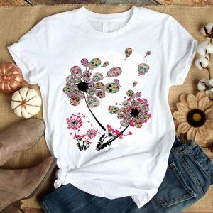 Dandelion Sugar Skulls Flower Sugar Skull Dandelion shirt