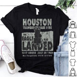Eagle has Landed Apollo 11 Moon Landing LEM Vintage Premium shirt