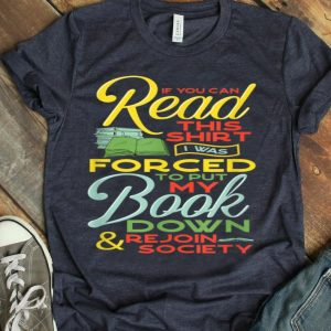 Forever Book Lover Passionate Bookworm Readers Rock shirt