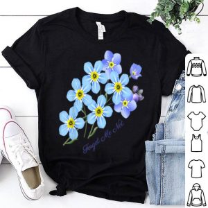 Forget-me-not Botanical For shirt
