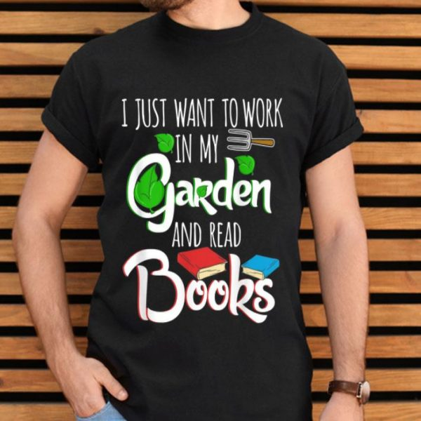 Gardening Plants Lover Book Lover Gardeners Mp shirt