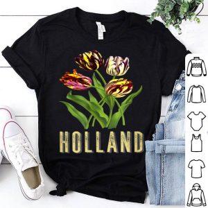 Holland Tulip Flower Gardens shirt