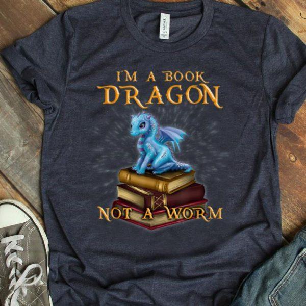 I'M A Book Dragon - Bookworm Gifts - Bookish Reader shirt