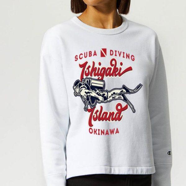 Ishigaki Island Okinawa Japan Scuba Diver shirt