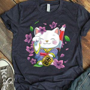 Japanese Maneki Neko Lucky Cat shirt