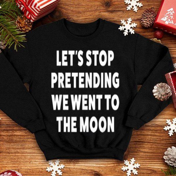 Moon Landing Hoax For shirt