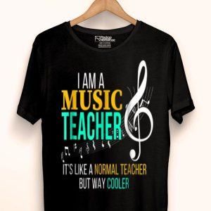 Music Lover Teacher Music Lover Teacher Cool Teachers shirt