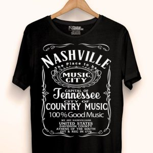 Nashville Tennessee Country Music Lover City United States shirt